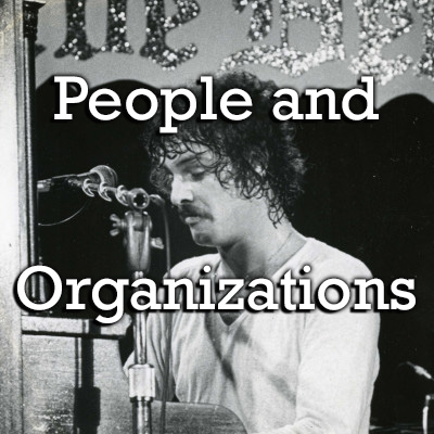 Search by people and organization