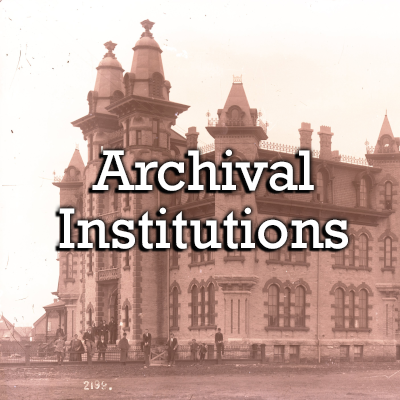 Search by Archival Institution